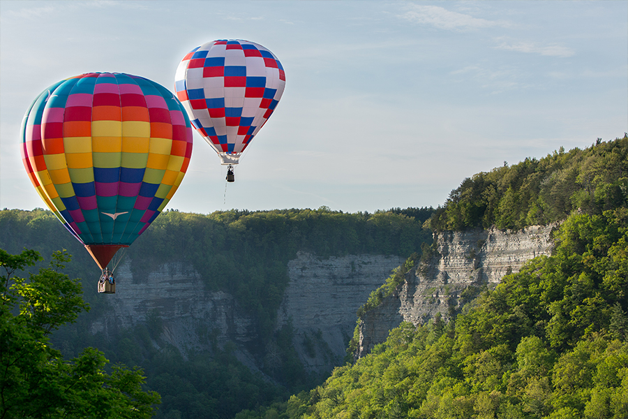 balloons over letchworth - About